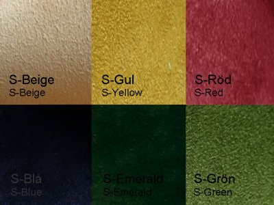 Santana leather in different colors